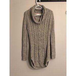 Dresses & Skirts - Grey knit sweater dress